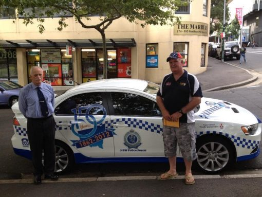 Terence Charles Calov DALTON with Greg Martin: One of the most professional Police Officers I have worked with the best person to lead the NSW Police for the 150th celebration worked with Terry over the years and bumped him in Sydney on a visit from the bush RIP Sir