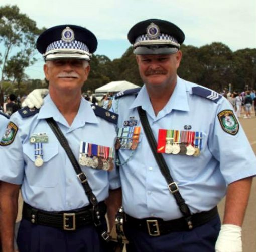 Terry DALTON & Sgt Sean Phillips<br /> One of the nicest bosses and blokes, I ever had the fortune too have met. RIP Sir