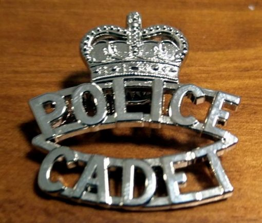 NSW Police Cadet hat badge
