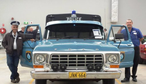 Cal & 11.45pm ( Nabil Elias just isn't quite dark enough to be midnight ) with the old F100 which we did a lot of shifts in at Cabramatta LAC - NSW Police Force & Fairfield LAC - NSW Police Force back in the 1970's.