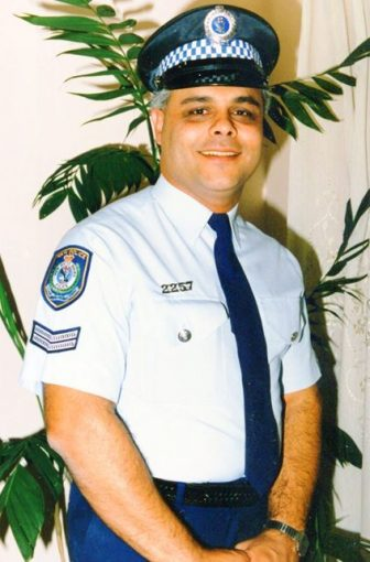 Senior Constable Nabil Elias