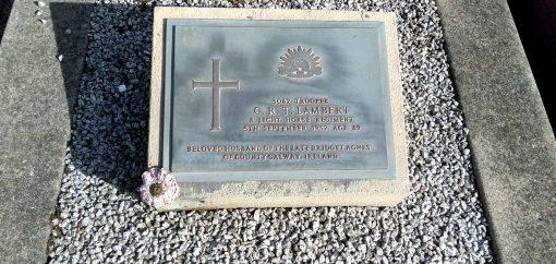 Christopher Richard Thomas LAMBERT - Grave