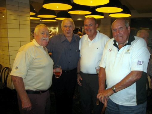 Neville Henry (The Owl), Les Lidbury (The Golden Colt), Bryan Wright and Ken Miller