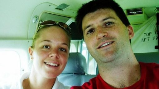 Sally Urquhart and fiance Trad Thornton. Sally Urquhart died when the TransAir passenger plane smashed into a hill in May 2005 on approach to the Far Northern community of Lockhart River, killing all 15 people aboard.