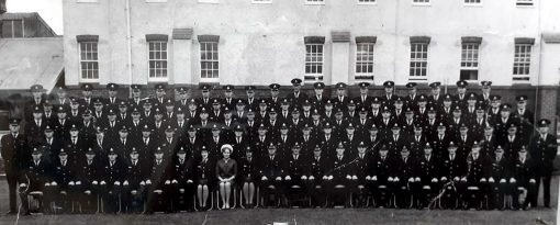 Police Training Centre - Redfern Class 103 Attested on Monday, 10 May 1965<br /> John Walker - top row - 2nd from right.<br /> 'possibly' Kenneth Owen EARL # 11490 - Back row - 9th from right