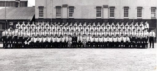 Class 109 of 12 December 1966 at Redfern Police Training Centre, Redfern Police Academy.