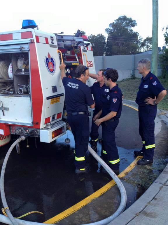 Corrimal Fire &amp; Rescue 269<br /> June 15, 2017 at 1:37 PM<br /> Peter ROMELINGH - 1st on right - hands on hip.