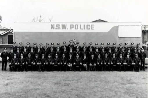 Class 136 - Redfern Police Academy - September 1973<br /> Image from Dennis Clarke