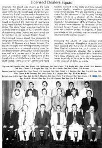 C.I.B. Centenary 1879 - 1979 Licensed Dealers Squad