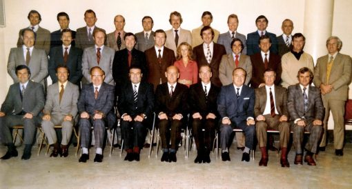 the Special Crime Squad which was renamed the Homicide Squad in the 70's. This is a photo of that squad taken about 1976 . Geoff McDowell - back row, far left.