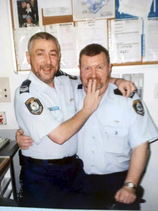 Michael John KEAN, Mick KEAN. Grahame FAHEY & Mick KEAN at Blacktown Police Station