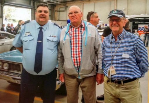 John SOLVYNS. Assistant Commissioner Michael CORBOY # 19643 , Col Colman # 12030, & John SOLVYNS # 15484
