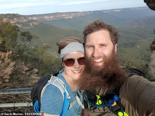 The couple bonded over their mutual love of adventuring and regularly went camping, hiking and on mountain bike rides throughout Australia