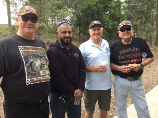 Raymond Charles ROBINSON, Ray ROBBO, Ray ROBINSON. 1 March 2018 · Sydney ·<br /> Mal Brown<br /> , Bull Ant<br /> , Lloyd Taylor &amp; Ray Robinson.<br /> Introduced Bull Ant to a NSWPF Association Legend Lloyd Taylor this morning.