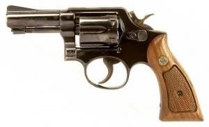 Smith & Wesson .38 cal revolver