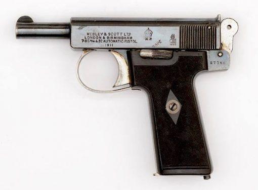 Webley & Scott Automatic pistol