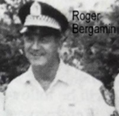 Roger BERGAMIN.  Photo courtesy of Joe Stanioch # 14194 from his book - Liverpool Police History.