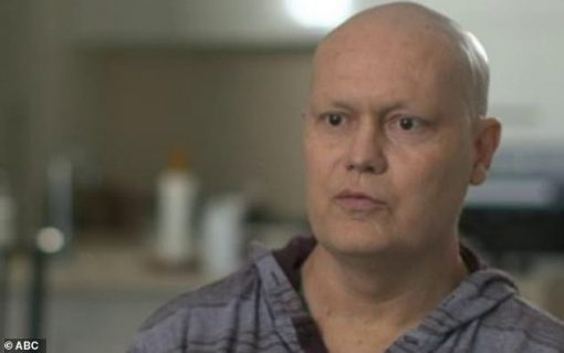 The former NSW detective (pictured during an interview in 2019) appealed for help to get permission to use the treatment, which normally costs $500,000. Dave ROBERTS