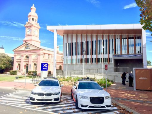 The new Inverell Police Station