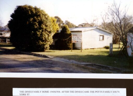 Bob DINE's first home in Tahmoor, NSW