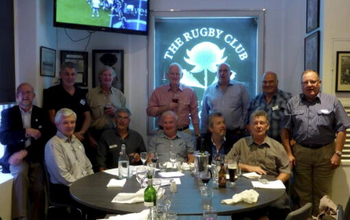 In 2014 this group celebrated their 50th anniversary although no longer teenagers and perhaps not so handsome. The photo is of the 50th anniversary. Back row left to right: Phil Martin, Neil Anderson, Geoff Towner, Maurie Green, Greg Parker, Ron Nunn and Col Irwin. Front row left to right: Geoff Wormleaton, Clive Steirn, Warren Chambers, Rudy Hereth and Sam Bass. *** Local Caption *** ( L - R ) In 2014 this group celebrated their 50th anniversary although no longer teenagers and perhaps not so handsome. The photo is of the 50th anniversary. Back row left to right: Phil Martin, Neil Anderson, Geoff Towner, Maurie Green, Greg Parker, Ron Nunn and Col Irwin. Front row left to right: Geoff Wormleaton, Clive Steirn, Warren Chambers, Rudy Hereth and Sam Bass.