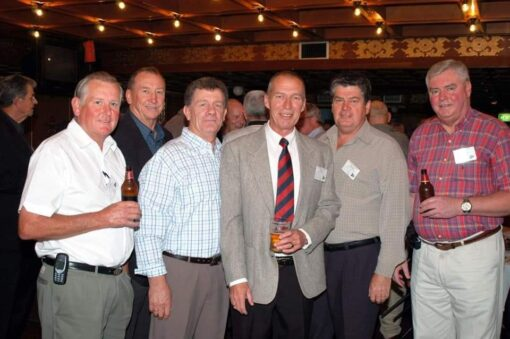 Dave DURANT, Frank BROWN, Sam BASS ( Dennis BASS ), Keith BYRNES, Noel PARKINSON, John CLARKE