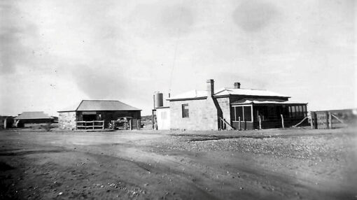 Joe Buck Series. This photo is described as being the Tibooburra Police Station early 1930's.